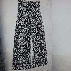Blue S Black and White Soft Pants w26x28 Inseam
